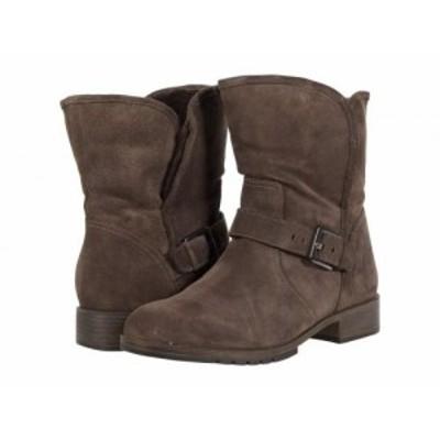 Naturalizer ナチュラライザー レディース 女性用 シューズ 靴 ブーツ アンクル ショートブーツ Sutton Taupe Oil Suede【送料無料】
