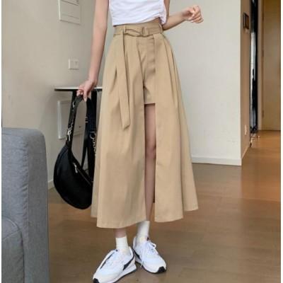 春夏新作着痩せ スカート/ズボン韓国ファッショントレンチコート最安值挑战女性大人気レデイースファッション幅広くしっかり