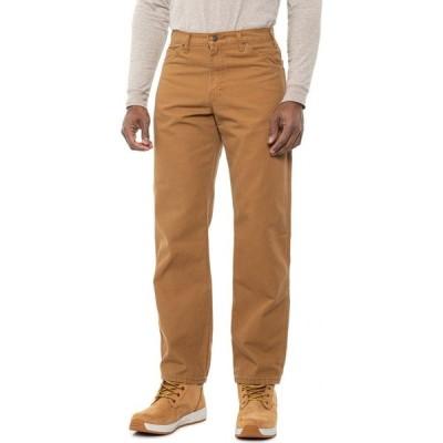 ディッキーズ Dickies メンズ ジーンズ・デニム ワークパンツ ボトムス・パンツ Carpenter Duck Jeans - Relaxed Fit Brown Duck