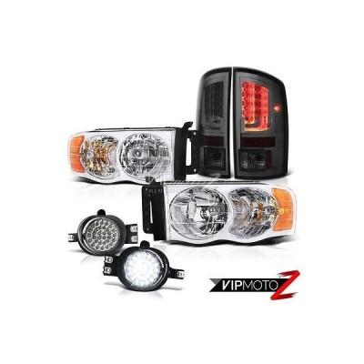 カー用品 パーツ ヴェノムインク 2003-2005 ダッジ ラム 1500 3.7L ダーク スモーク テールランプ ヘッドライト フォグ ランプ Oe スタイル