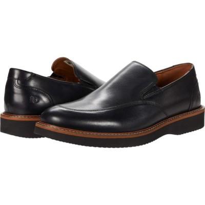 ダナム Dunham メンズ スリッポン・フラット シューズ・靴 Clyde Slip-On Black Leather