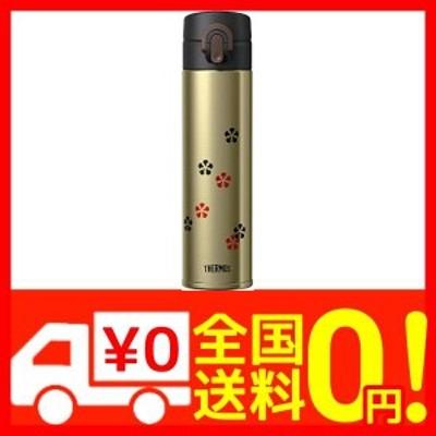 サーモス 日本製 水筒 真空断熱ケータイマグ ワンタッチオープン 400ml ゴールド JOA-400GL