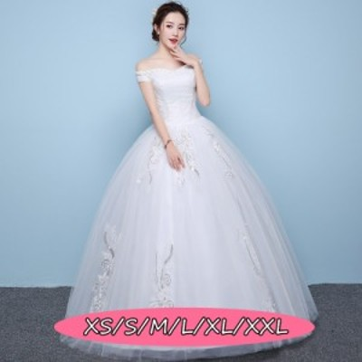 ウェディングドレス 結婚式 きれいめ 花嫁 ドレス エレガントスタイル 大人の魅力 ロング丈ワンピ-ス Aラインワンピース 白ドレス