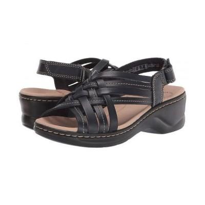 Clarks クラークス レディース 女性用 シューズ 靴 ヒール Lexi Carmen - Navy Leather