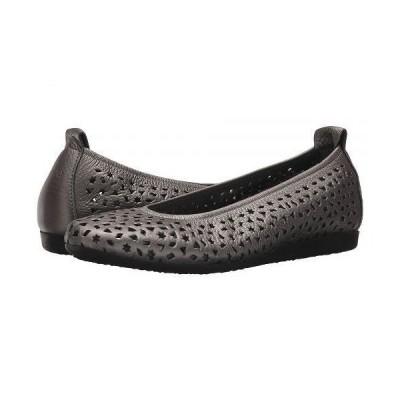 Arche アルシュ レディース 女性用 シューズ 靴 フラット Lilly - Iron/Etain