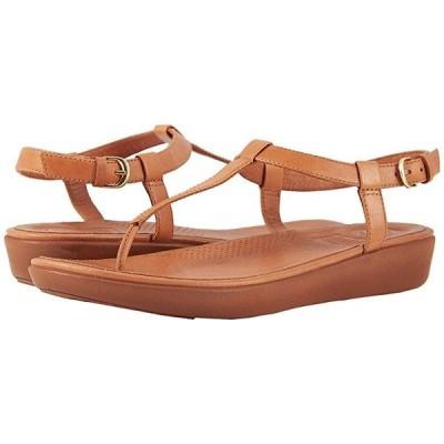 FitFlop Tia Toe Thong Sandals レディース サンダル Caramel