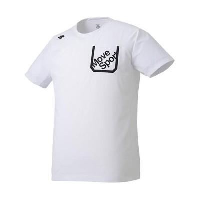 デサント(DESCENTE) メンズ PRIMEFLEX 半袖Tシャツ ホワイト DMMRJA59 WH トレーニングウェア スポーツウェア カジュアル トップス