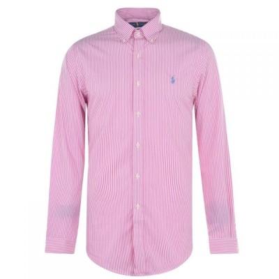 ラルフ ローレン Polo Ralph Lauren メンズ トップス Pop Stripe Shirt Pink/White