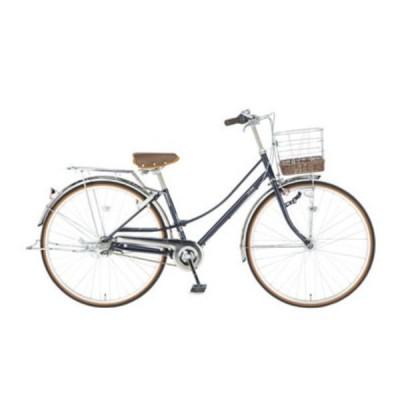 自転車 イーストボーイ 27インチ ママチャリ デラックス ネイビー 2020年 内装3段ギア EASTBOY DX273HD イーストボーイ