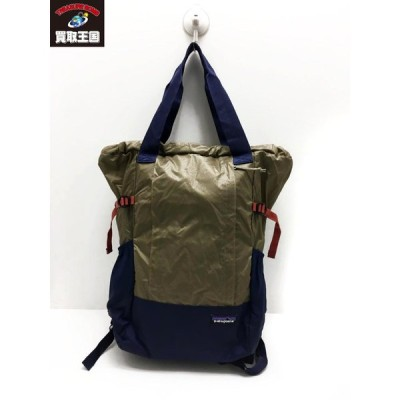 patagonia ナイロン2WAYバックパック Lighweight Travel Tote