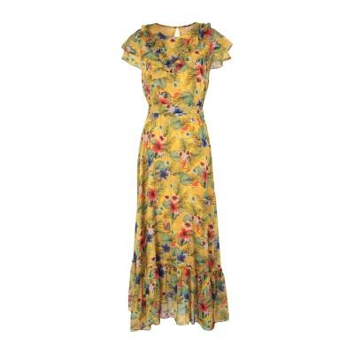 TRAFFIC PEOPLE ロングワンピース&ドレス オークル M ポリエステル 100% ロングワンピース&ドレス