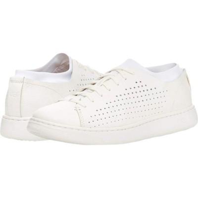 アグ UGG メンズ スニーカー ローカット シューズ・靴 Pismo Sneaker Low Perf White Hyperweave