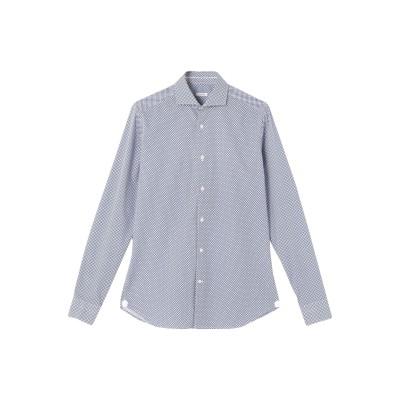 カリバン CALIBAN シャツ ブルー 37 コットン 100% シャツ