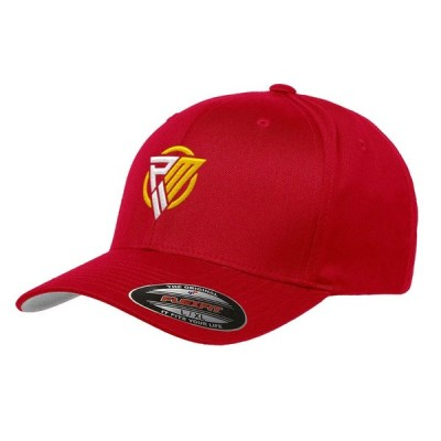 NFL パトリック・マホームズ キャップ/帽子 ロゴ フレックス フィット PM II レッド