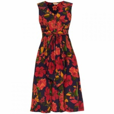 フェイズ エイト Phase Eight レディース ワンピース ワンピース・ドレス Cilla Floral Fit And Flare Dress Navy