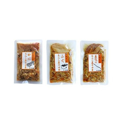 [DM便発送]ちらし寿司の素(かに・ふぐ・あなご)(1パック当り2〜3人前)