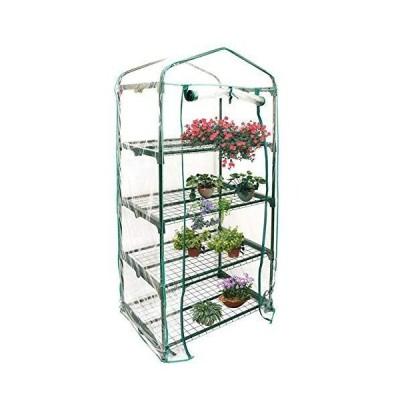 Yosoo 特大 PVC ビニールハウス ガーデンハウスカバー 植物 ビニールハウス ビニール温室 フラワースタンド・ガーデンラック・温室・