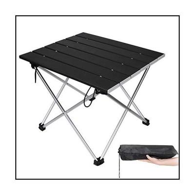 【新品】MAORUI ポータブルキャンプテーブル アルミ折りたたみテーブル 超軽量キャンプテーブル アウト