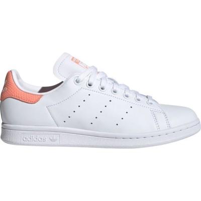アディダス スニーカー シューズ レディース adidas Originals Women's Stan Smith Shoes White/Coral