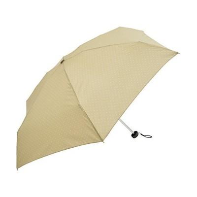 Nifty Colors(ニフティカラーズ) 折りたたみ傘 ベージュ 50cm