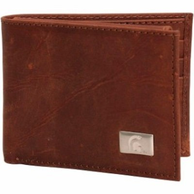 Eagles Wings イーグルス ウイングズ スポーツ用品  Michigan State Spartans Leather Billfold w/ Concho