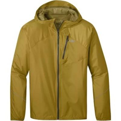 アウトドアリサーチ メンズ ジャケット&ブルゾン アウター Helium Rain Jacket - Men's Lichen