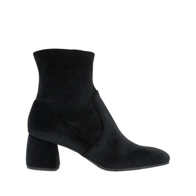 CUOIERIA ショートブーツ ファッション  レディースファッション  レディースシューズ  ブーツ  その他ブーツ ブラック