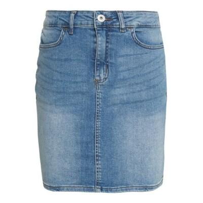 イチ スカート レディース ボトムス TWIGGY - Denim skirt - light blue