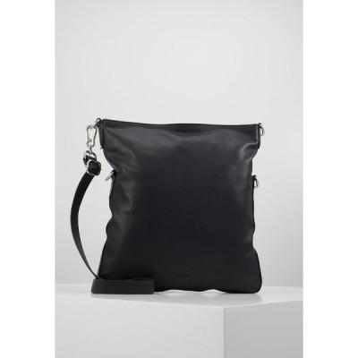 エスプリ ハンドバッグ レディース バッグ Handbag - black
