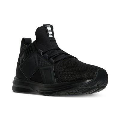 プーマ スニーカー シューズ メンズ Men's Enzo Casual Sneakers from Finish Line Puma Black