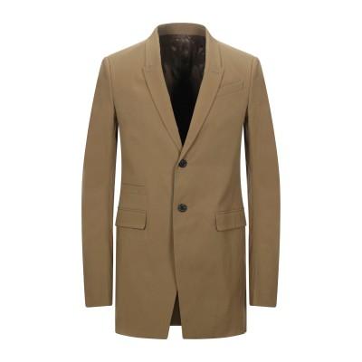 リック オウエンス RICK OWENS テーラードジャケット カーキ 50 コットン 97% / ポリウレタン 3% テーラードジャケット