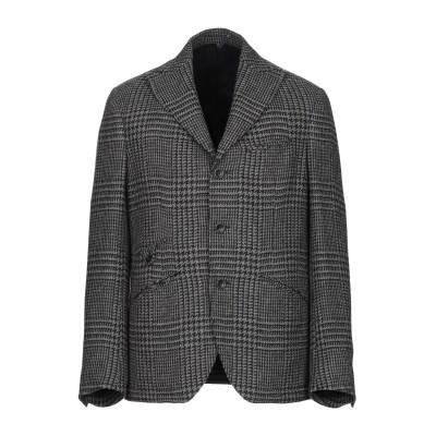MONTEDORO テーラードジャケット グレー 48 ウール 88% / コットン 12% テーラードジャケット