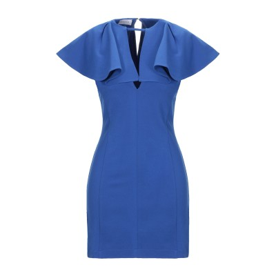GAëLLE Paris ミニワンピース&ドレス ブルー 42 レーヨン 65% / ナイロン 30% / ポリウレタン 5% ミニワンピース&ドレス