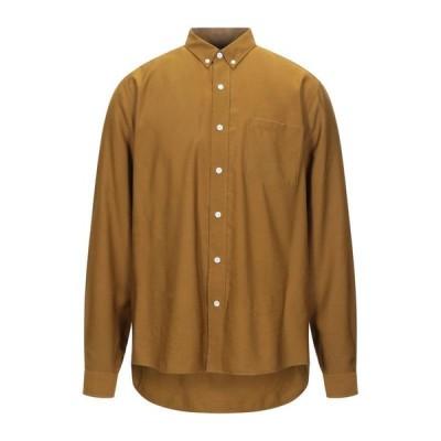AMI ALEXANDRE MATTIUSSI 無地シャツ ファッション  メンズファッション  トップス  シャツ、カジュアルシャツ  長袖 ミリタリーグリーン