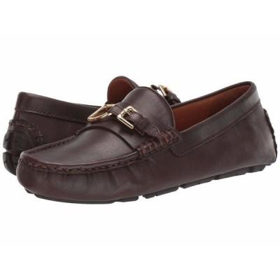 ラルフローレン スリッポン・ローファー シューズ メンズ Anders Bit Brown Calf Leather