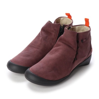ヨーロッパコンフォートシューズ EU Comfort Shoes Softinos ショートブーツ(900.489) (ワイン)