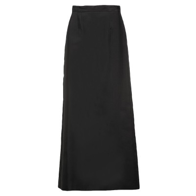 ディースクエアード DSQUARED2 ロングスカート ブラック 40 シルク 100% ロングスカート