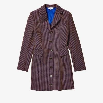 オープニングセレモニー ワンピース トップス レディース Blazer Dress w/ Rib Back French Blue Multi