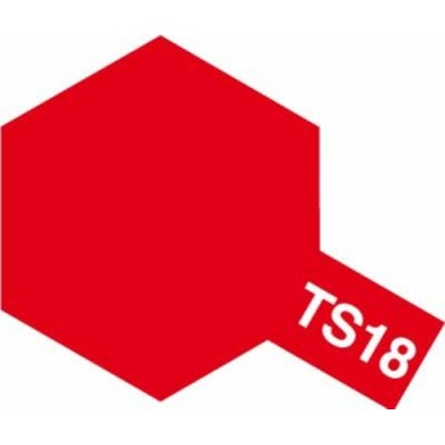 TAMIYA 【塗料】スプレーカラー TS-18 メタリックレッド