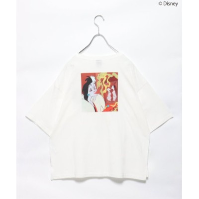 tシャツ Tシャツ クルエラ/バックプリントT