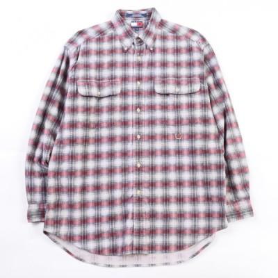 90年代 トミーヒルフィガー ヘビーネルシャツ M /wbh5889