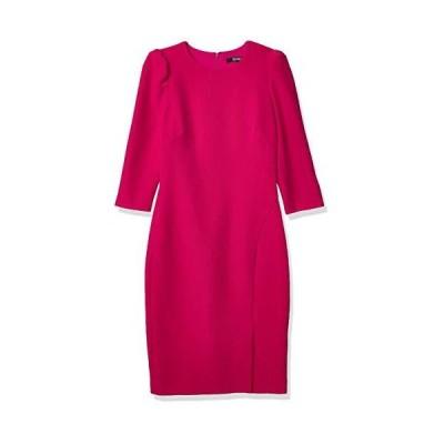 Badgley Mischka レディース 七分袖ドレス US サイズ: 12 カラー: ピンク