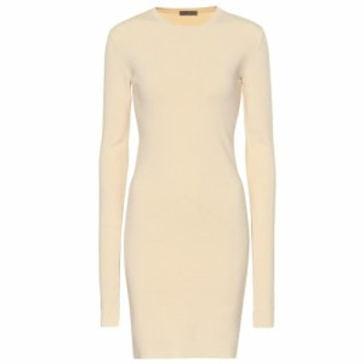 ボッテガ ヴェネタ Bottega Veneta レディース ワンピース ワンピース・ドレス Stretch cashmere dress Cream
