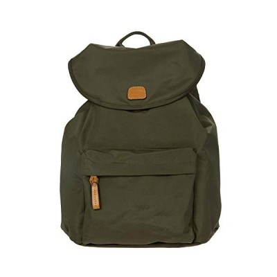 Bric's Women's X-Bag/x-Travel 2.0 City Backpack, Olive, One Size 並行輸入品