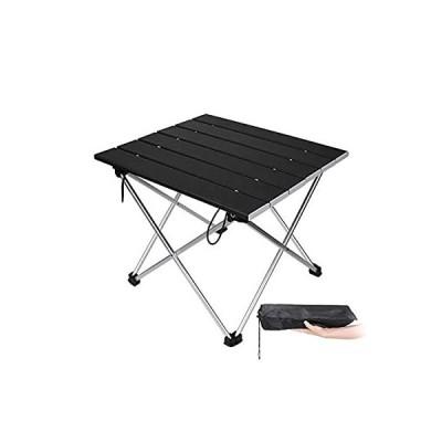 ポータブルキャンプ折りたたみテーブル簡単組立ガーデンテーブル屋外家具キャンプハイキング釣りバーベキューピクニックテーブルポーチ付き