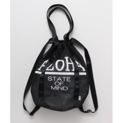 Kahiko 公式 [【2WAY】アロハメッシュエコトートバッグ] カヒコ ハワイアン  ファッション雑貨 バッグ 45HP1203