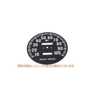 【取寄せ】Speedometer Tin Face  V-TWIN 品番 39-0312  (参考品番:67004-68 )  Vツイン アメリカ USA