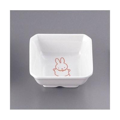 関東プラスチック メラミンお子様用弁当シリーズ ミッフィー M-331P角小鉢(松花堂用) RKKA901
