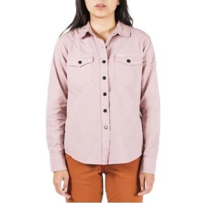 トポ・デザイン レディース シャツ トップス Topo Designs Lightweight Mountain Shirt - Women's Haze