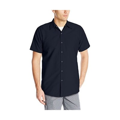 Red Kap Men 's Specialized Pocketless Workシャツ US サイズ: M カラー: ブルー